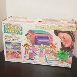 DOLLY MAKER BOUTIQUE 1995 IN BOX NEW VINTAGE